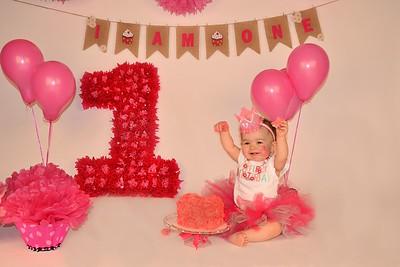 andrea 1st birthday